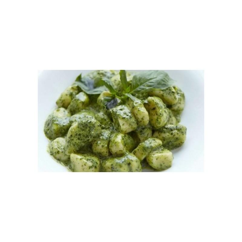 Gnocchi di patate di Montese al pesto di Basilico